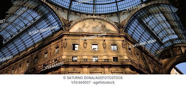 Galleria Vittorio Emanuele, Milan, Lombardy, Italy