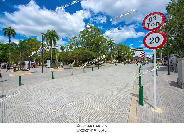 Parque Simon Bolivar De Monteria, Monteria, Cordoba, Colombia