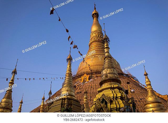 Shawedagon Pagoda, Yangon, Myanmar
