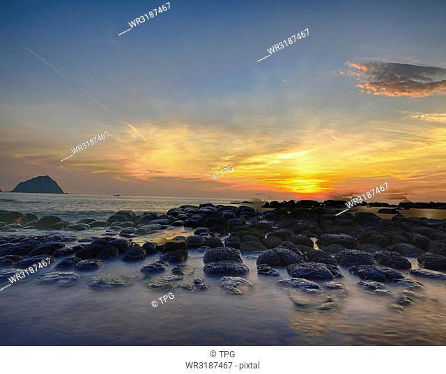 Sunrise of Hopin isaland
