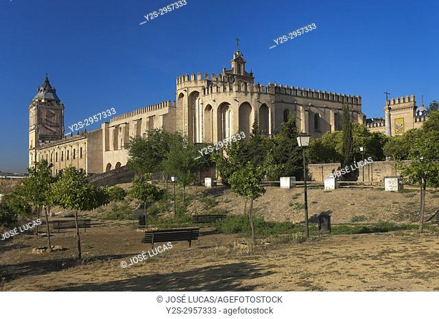 Monastery of San Isidoro del Campo - founded in 1301, Santiponce, Sevilla province, Region of Andalusia, Spain, Europe