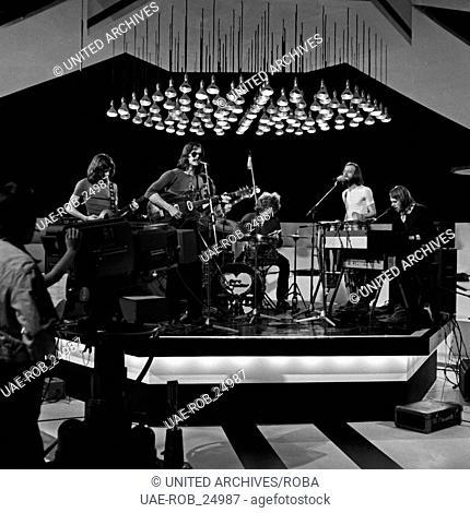 """Protestsongs, Musiksendung, Deutschland 1971, Regie: Herbert Sundermeier, Mitwirkende: die Band """"""""Ihre Kinder"""""""""""""""