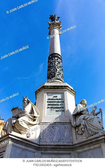 Piazza di Spagna, Rome, Italy, Europe