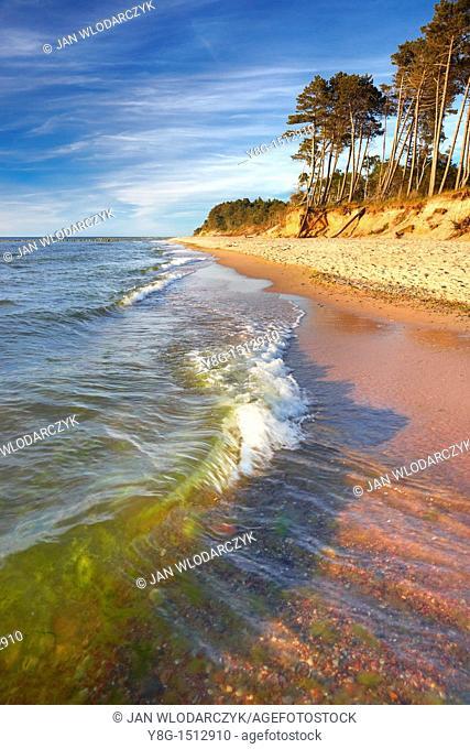 Baltic Sea near Ustka, Poland, Europe