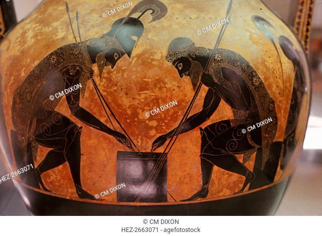 Vase Exekias Achilles Stock Photos And Images Age Fotostock