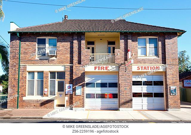 Lismore Fire Station, Lismore, NSW, Australia