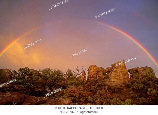 Sunset at Chiricahua National Monument, Arizona