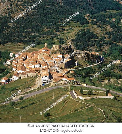 Linares de Mora. Teruel province, Aragón, Spain