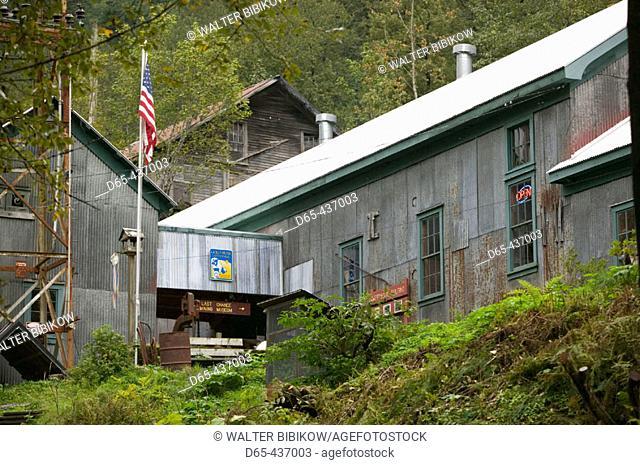 Last Chance Mining Museum Exterior. Juneau. Southeast Alaska. USA