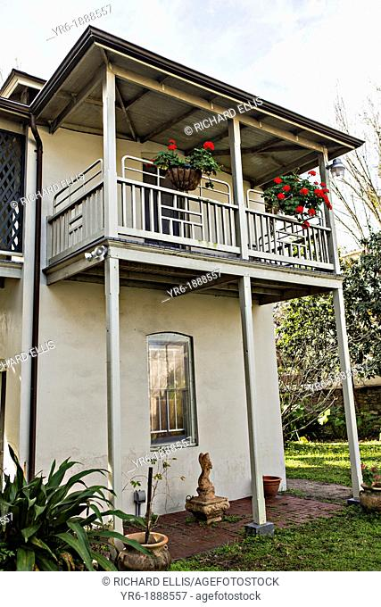 St  Augustine Historical Society Research Library on Aviles Street in the historic district in St  Augustine, Florida  St Augustine is the oldest city in...