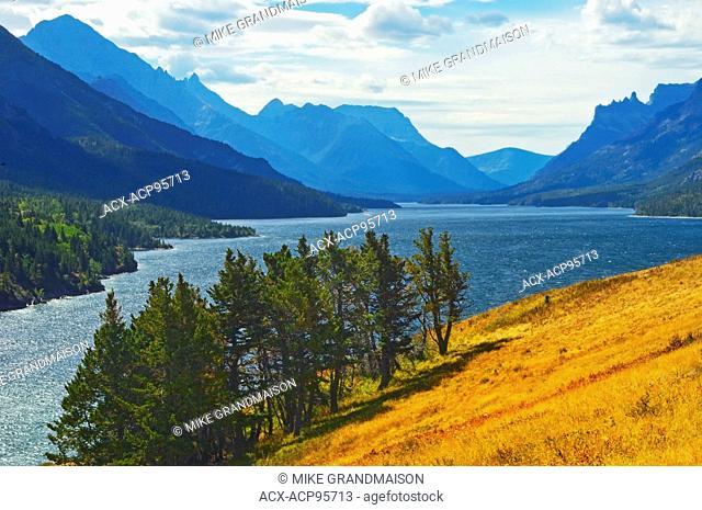 Waterton Lake Waterton Lakes National Park Alberta Canada Waterton Lakes National Park Alberta Canada