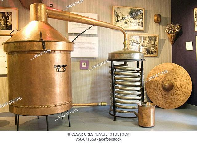 Le Musée de la Lavande (The Lavender Museum ). Gordes. Vaucluse. Provence. France