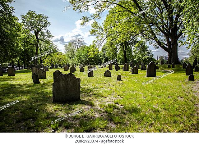 Historic cemetery located in Boston, Massachusetts, United States