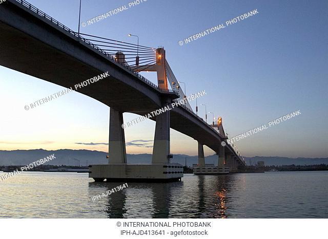 Philippines Cebu Mactan Island Lapu-Lapu City Marcelo B. Fernan Bridge Adrian Baker