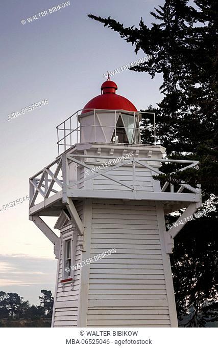 New Zealand, South Island, Canterbury, Timaru, Timaru Lighthouse