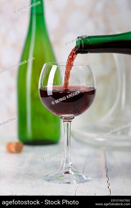Weinglas füllen