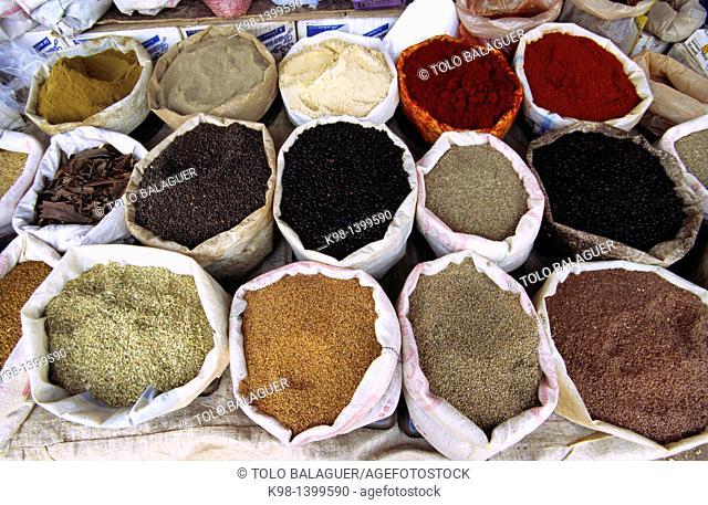 Berber Market, Azrou, Middle Atlas, Morocco
