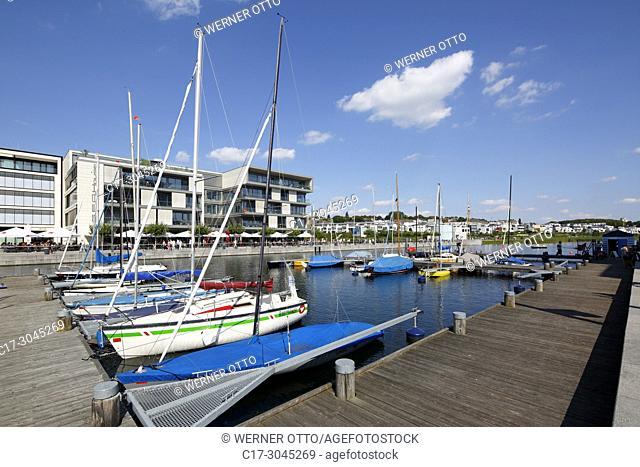 Dortmund, Hoerde, D-Dortmund, Ruhr area, Westphalia, North Rhine-Westphalia, NRW, D-Dortmund-Hoerde, Phoenix-See, Phoenix Lake, artificial lake