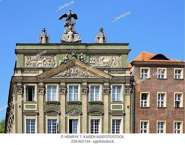 Dzialynski Palace, Old Market Square, Poznan, Poland