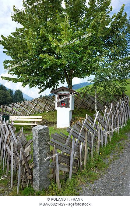 Austria, Tyrol, wayside shrine, Reith bei Kitzbuehel