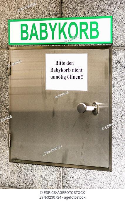 baby hatch, mannheim, baden-wuerttemberg, germany
