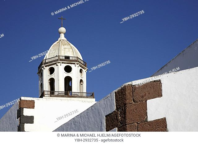 Iglesia de Nuestra Senora de Guadalupe Church, Teguise, Canary Islands; Lanzarote; Guadalupe; Spain