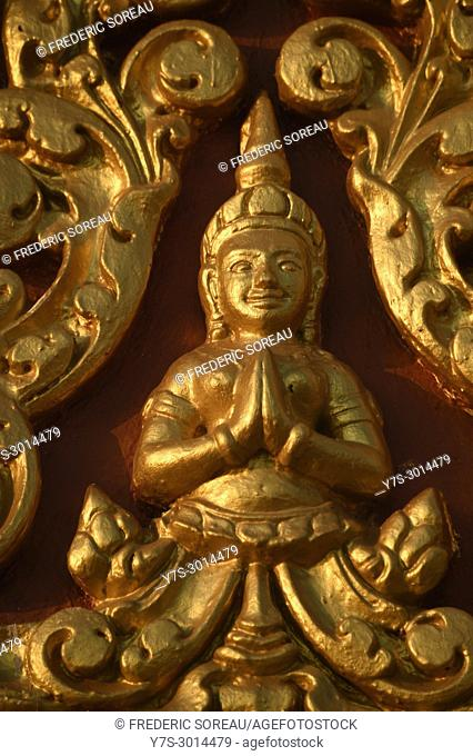 Buddha statue in Phnom Penh,Cambodia,South East Asia,Asia