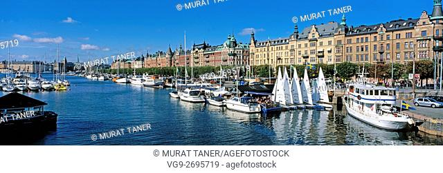 View of Gamla Stan (Old Town). Stockholm, Sweden