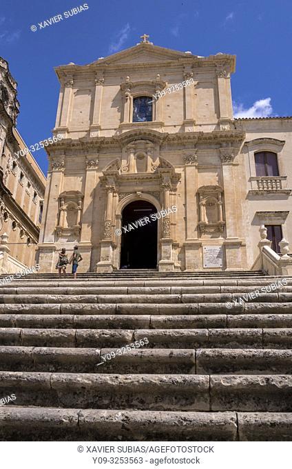 Church of San Francesco all'Immacolata, Noto, Siracusa, Sicily, Italy