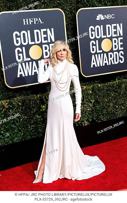 Judith Light attends the 76th Annual Golden Globe Awards at the Beverly Hilton in Beverly Hills, CA on Sunday, January 6, 2019