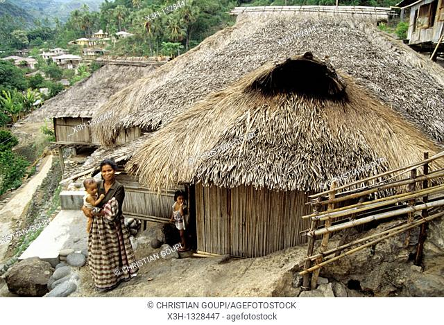 Ndona village around Ende, Flores island, Lesser Sunda Islands, Republic of Indonesia, Southeast Asia and Oceania