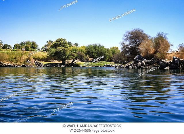 Nile, Aswan, Nubia. Egypt