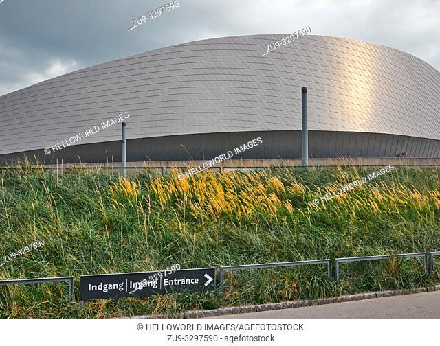 National Aquarium Denmark (Den Bla Planet), Kastrup, Copenhagen, Denmark, Scandinavia. The National aquarium of Denmark opened in 2013 and is the largest...