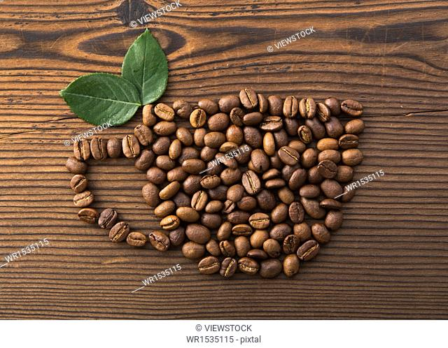 Ideas into a cup of coffee beans
