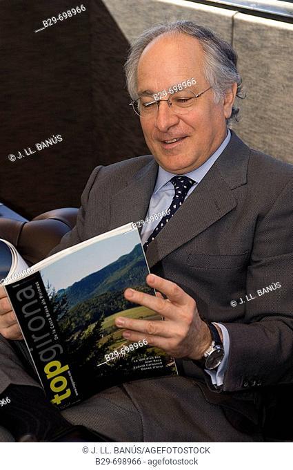 Joan Maria Nin, CEO of 'La Caixa' savings bank