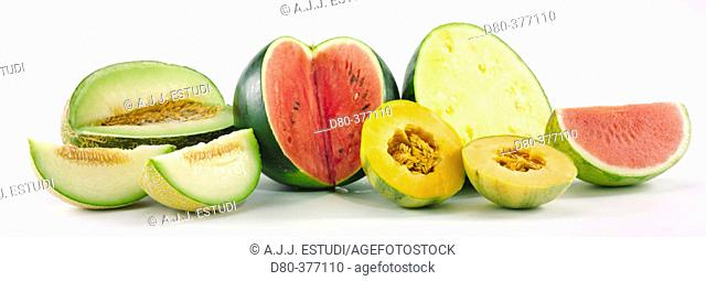 Melons and watermelons