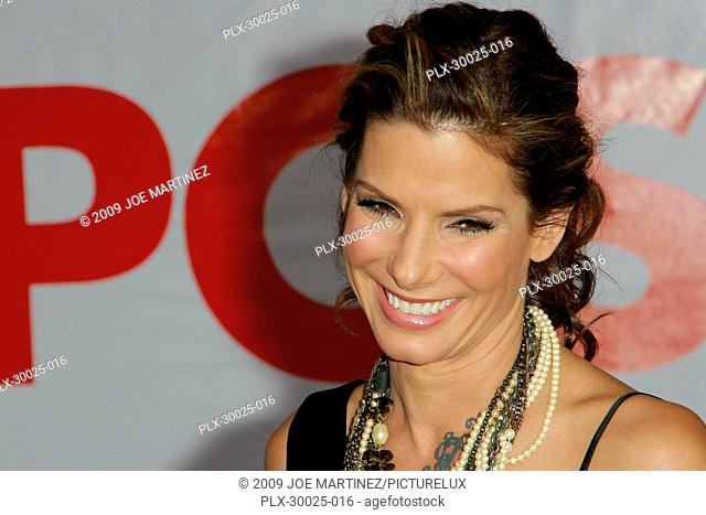 Sandra Bullock at the World Premiere of Touchstone Pictures' The Proposal held at the El Capitan Theatre in Hollywood, CA, June 1, 2009