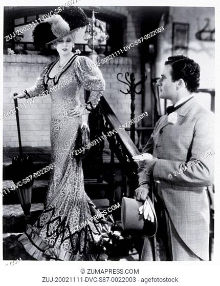 1933, Film Title: SHE DONE HIM WRONG, Director: LOWELL SHERMAN, Studio: PARAMOUNT, Pictured: GILBERT ROLAND, LOWELL SHERMAN