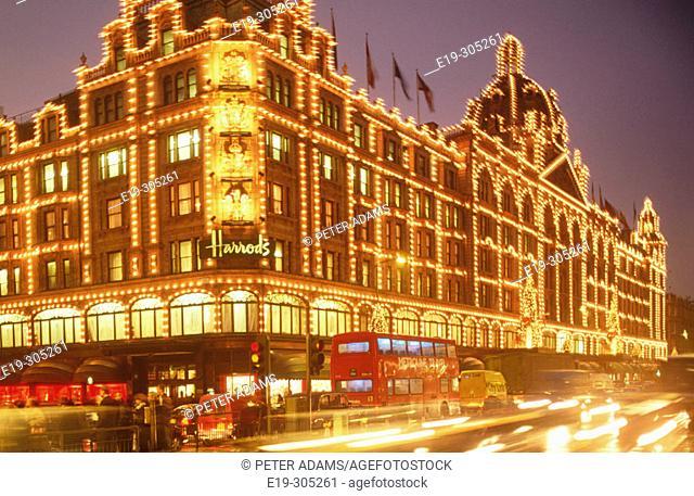 Harrods. London. England