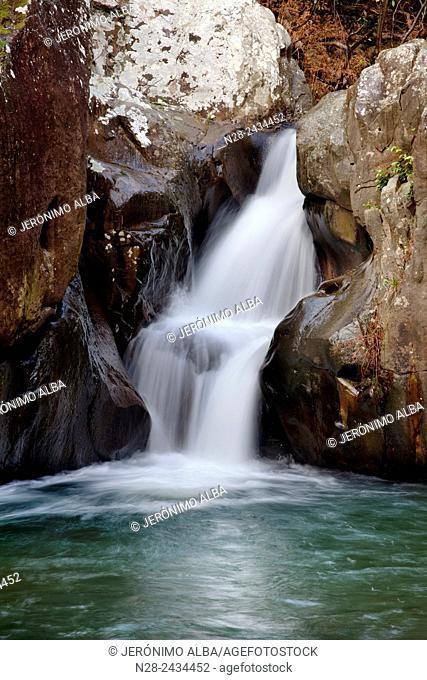 Rio de la Miel, Los Alcornocales Natural Park, Algeciras, Cadiz, Andalusia, Spain