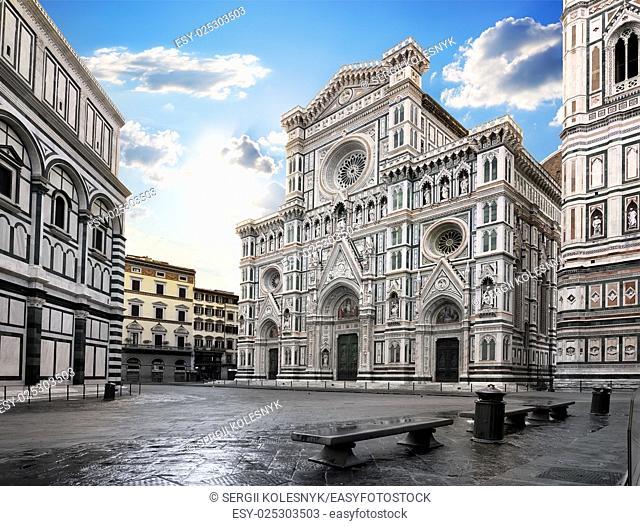 Cattedrale di Santa Maria del Fiore in Florence, Italy