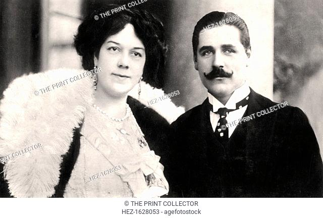 Clara Ellen Butt (1872-1936) and Kennerley Rumford (1870-1957), English singers, 1906