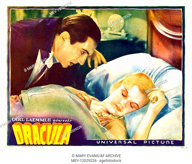Movie Poster Film: Dracula (USA 1931) Director: Tod Browning 12 February 1931
