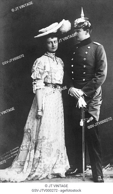 Augusta Victoria and Wilhelm II, 1906