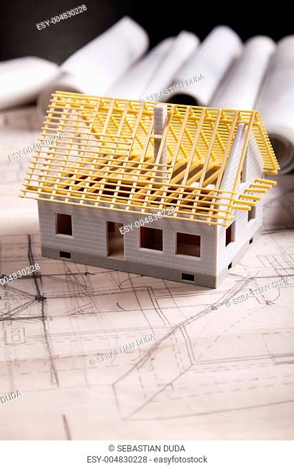 Architecture plan and home