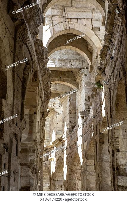 Arles is a small villge in the South of France famous as a home for Vincent Van Gogh as well as well preserved Roman Ruins