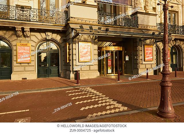 Carre, Royal Theatre Carre, Amstel, Amsterdam, Netherlands. . Neo renaissance theatre opened in 1887. Originally used for circus performances and today for...