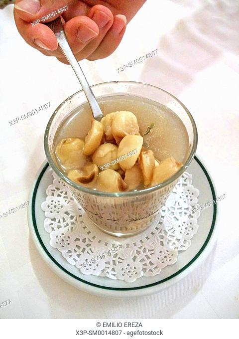 Lotus seeds dessert