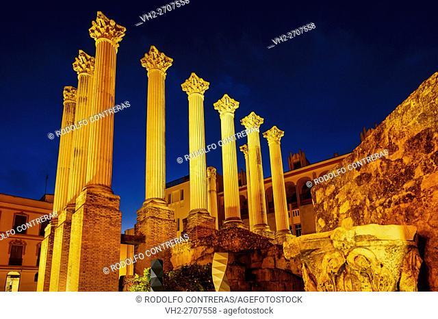 Roman temple, Cordoba