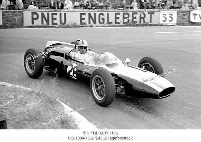 Belgian GP at Spa, 1961